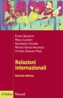 copertina Relazioni internazionali