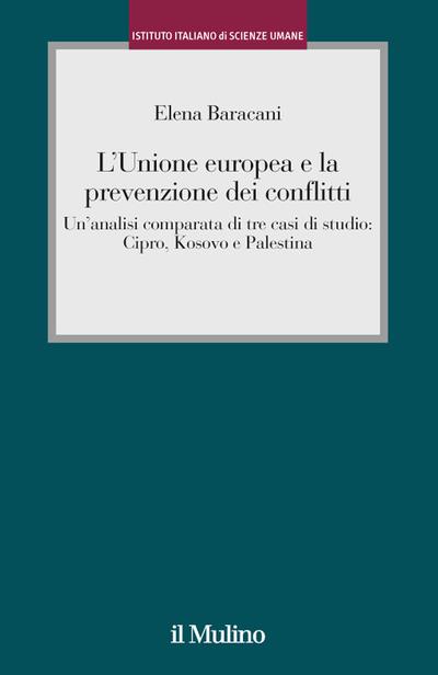 Cover L'Unione europea e la prevenzione dei conflitti