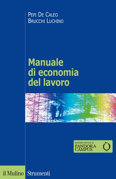 Cover Manuale di economia del lavoro