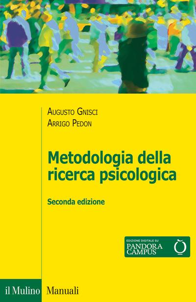 Cover Metodologia della ricerca psicologica