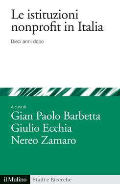copertina Le istituzioni nonprofit in Italia
