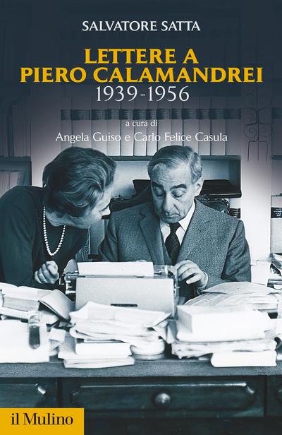 Cover Lettere a Piero Calamandrei 1939-1956
